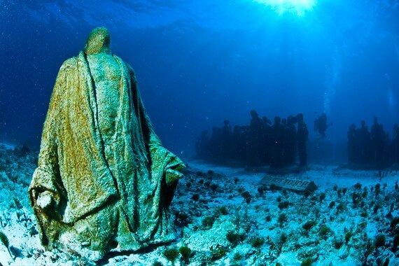 Musa Underwater Museum Cancun snorkeling